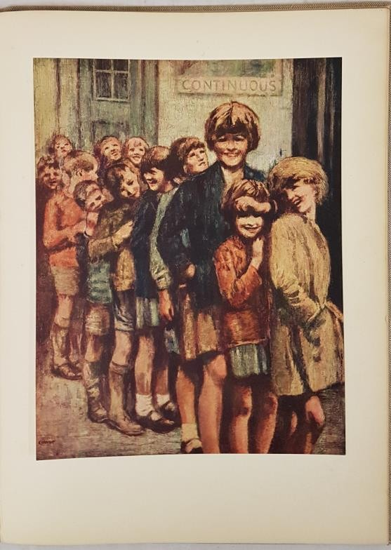 William Conor. The Irish Scene. 1944. 1st. Folio. 12 excellent plates, 6 of which are coloured. - Image 3 of 4