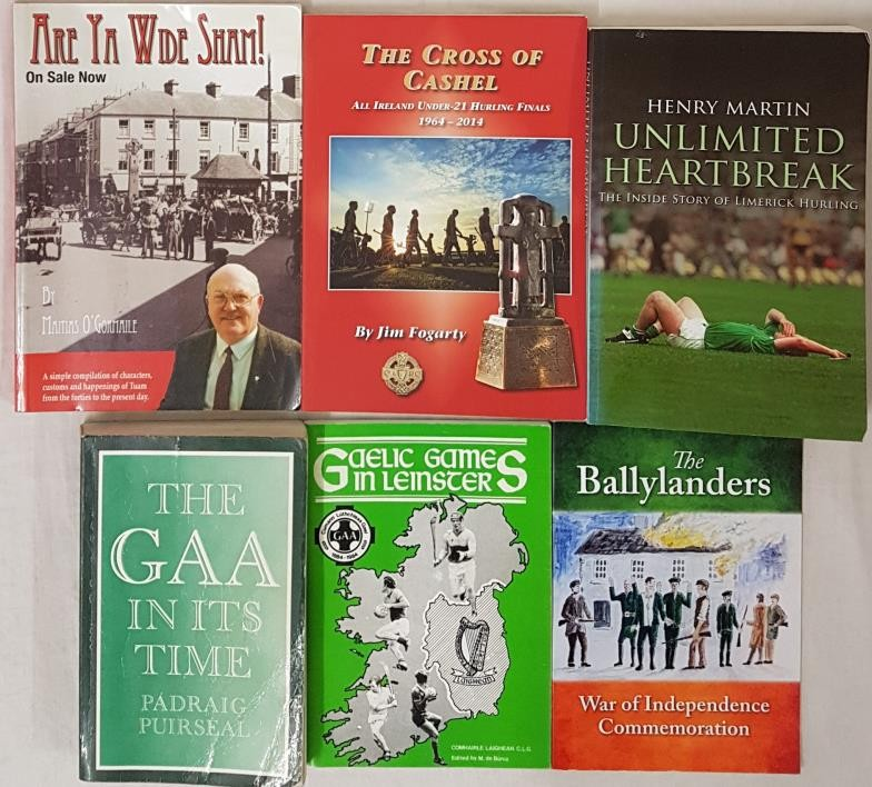 G.A.A. The Cross Of Cashel, All Ireland Under 21 Hurling Finals 1964-2014 by Jim Fogarty; The