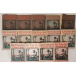 CapuchinAnnuals - 1942, 1964, 1965, 1967, 1968, 1969 (2), 1970, 1971, 1972, 1974, 1975, 1976 and