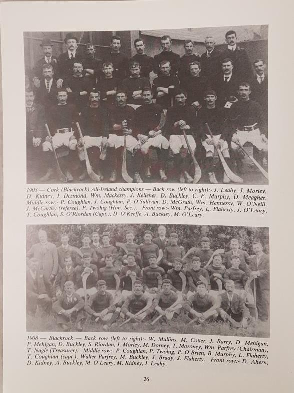 Cork G.A.A. - The Rockies, A History Of Blackrock Hurling Club. A Centenary Publication. Madden, - Image 3 of 3