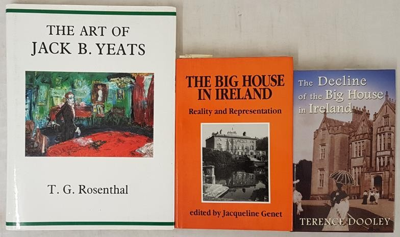 The Art of Jack B Yeats by T. G. Rosenthal. Large format; The Decline of the Big House in Ireland.