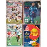 Republic Of Ireland International Soccer Match Programmes 1989 (13), 1990 (10), 1991 (3) and 1992 (
