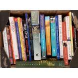 Small box c20 volumes, Irish Literary, Memoirs, Travel. . All vg.
