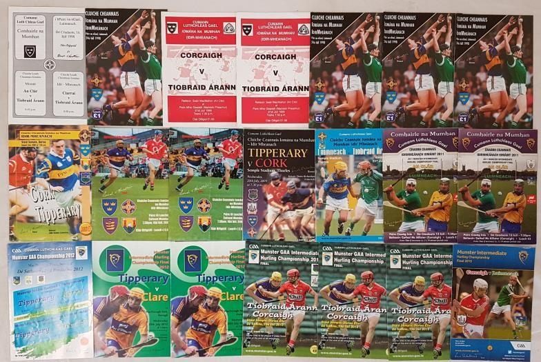 Munster Intermediate Hurling Programmes - 1998-2015 (21)