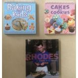 Cookery: Box of cookery and baking books