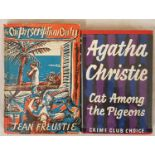 Cat Among the Pigeons, Agatha Christie, 1st Edition, 1st printing, 1959, Collins, London, with