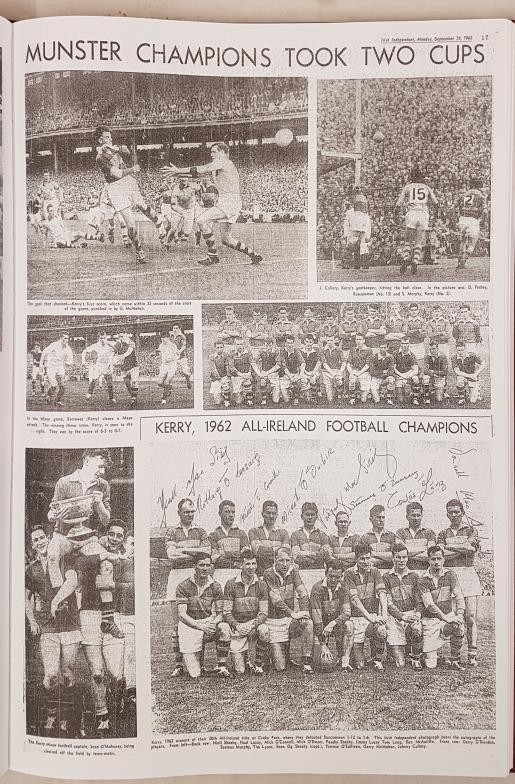 Freeman's Journal & Irish Independent 125 Years All-Ireland Finals Football. Compiled by Paudie O' - Image 3 of 5