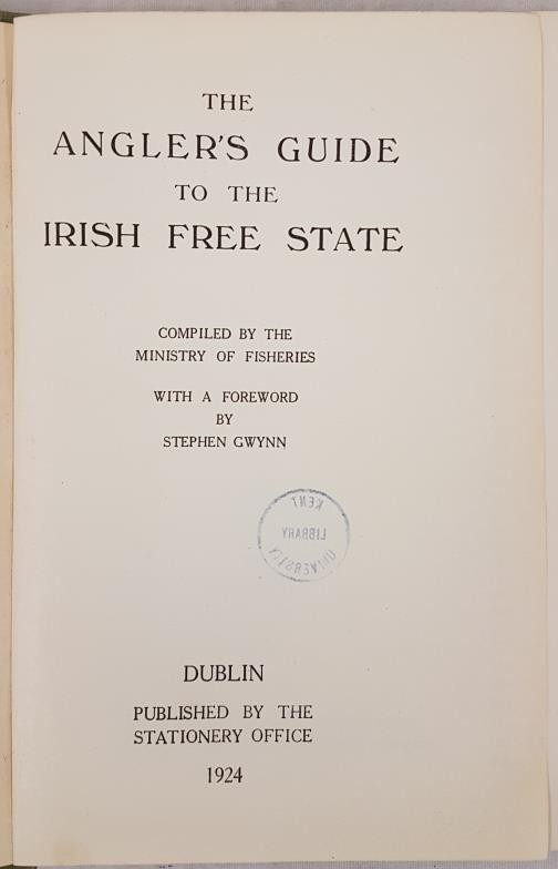 The Angler's Guide to the Irish Free State. Compiled by the Department of Lands and Fisheries. - Image 2 of 7