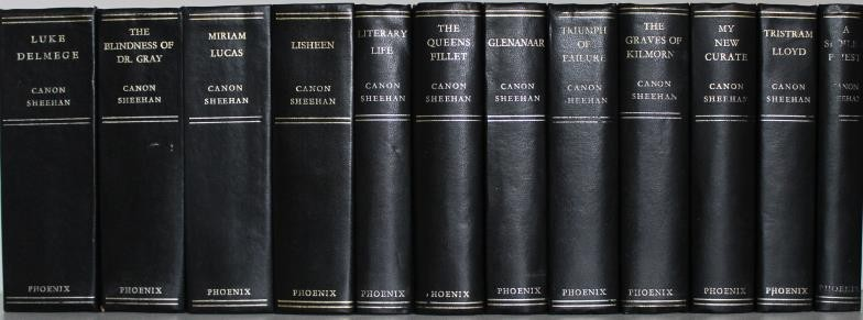 Canon Sheehan: The Complete Works in 12 volumes. Fine condition in original pictorial cloth.