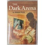 The Dark Arena, Mario Puzo, 1st Edition, 1st Printing, 1955, inscribed by the author, Random