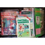 Collection of Irish and Non-Irish Soccer Interest Match Programmes and Books etc. (48)