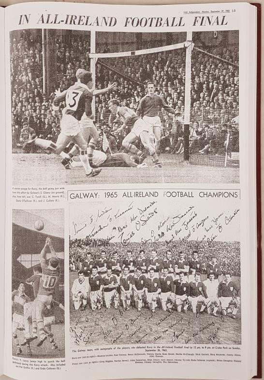 Freeman's Journal & Irish Independent 125 Years All-Ireland Finals Football. Compiled by Paudie O' - Image 5 of 5
