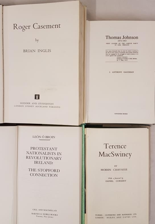 Terence MacSwiney by Chavasse1961; Roger Casement by Inglis. 1973; Thomas Johnson. 1872-1963 First - Image 2 of 2