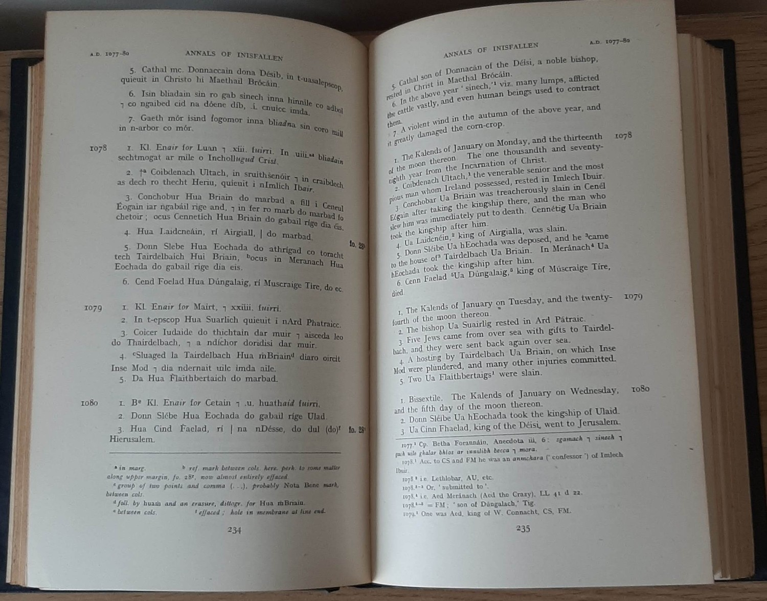 The Annals of Inisfallen (Mac Airt, 1951, 1st). - Image 3 of 3