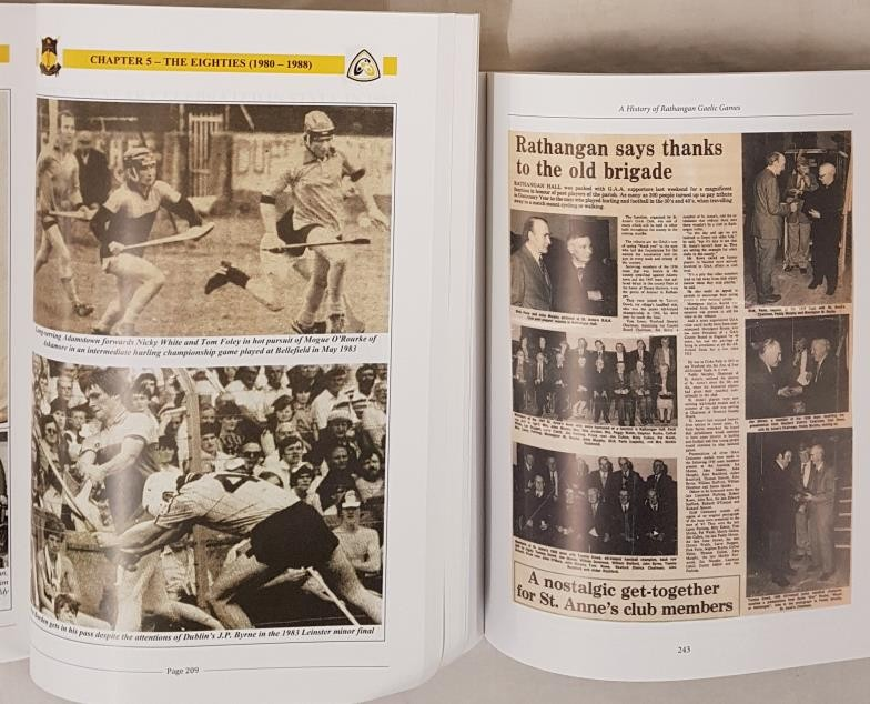 Wexford G.A.A. St. Anne's G.A.A. Club - A History of Rathangan GaelicGames, October 2000 by - Image 3 of 3
