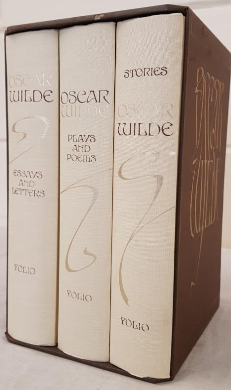 Wilde, Oscar. Stories; Plays and Poems; Letters and Essays. Edited and introduced by Merlin Holland.