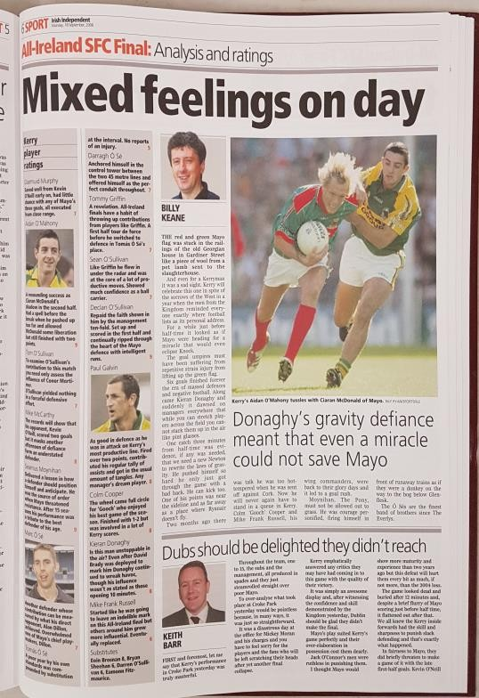 Freeman's Journal & Irish Independent 125 Years All-Ireland Finals Football. Compiled by Paudie O' - Image 4 of 5