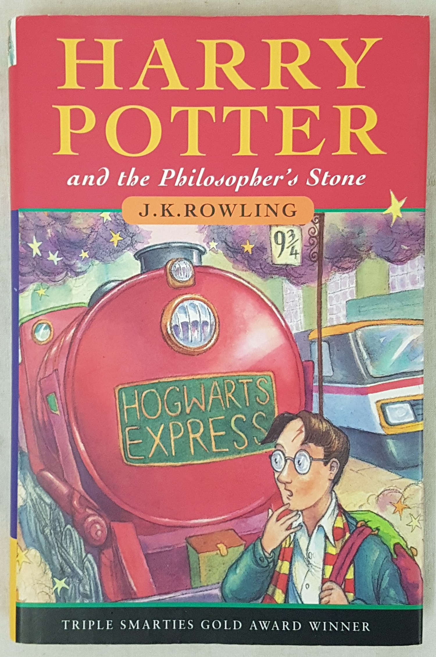 Harry Potter and the Philosopher's Stone, J.K. Rowling, 1st Edition, 28th printing, Bloomsbury, with