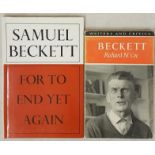 Samuel Beckett. For To End Yet Again and Other Fizzles. 1976. Fine d.j. and Richard N. Coe. Beckett.