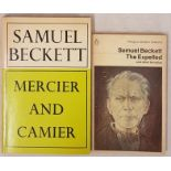 Samuel Beckett. Mercier and Camier. 1973. 1st translated edition and S. Beckett. The Expelled and