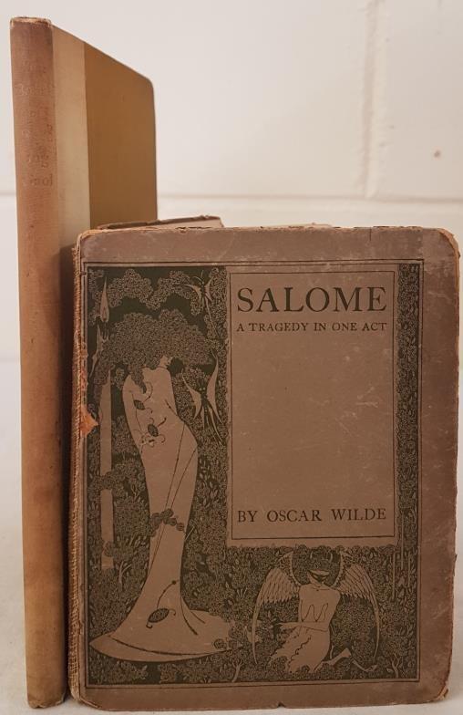 Oscar Wilde The Ballad of Reading Gaol. 7th Edition, 1898; and Oscar Wilde Salome, 1911
