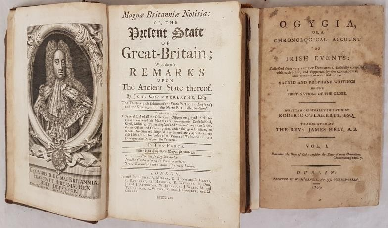 John Chamberlayne. The Present State of Great Britain with Divine Remarks upon the Ancient State.