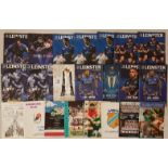 Leinster Rugby - Leinster Branch Rugby Programmes 1983-2004 (7) and Leinster Rugby Programmes 2000-