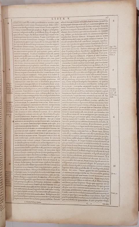 Septimii Florentis Tertulliani. Presbytere Opera. 1617. Early Christian author who established early - Image 2 of 3