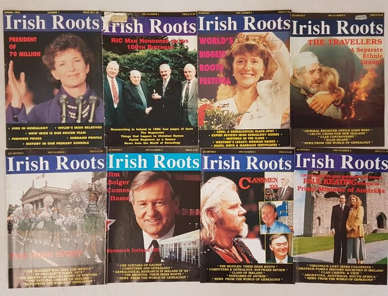 Irish Roots. Quarterly Periodical, illustrated. Complete run of fifty two issues from Spring 1992 ( - Image 2 of 2