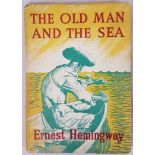 The Old Man and the Sea, Ernest Hemingway, 1st illustrated edition, 1953, Reprint Society UK, with