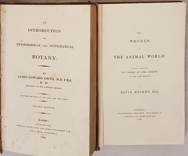 An Introduction to Physiological and Systematical Botany, James Edward Smith, Longman, Hurst, Rees - Image 2 of 4