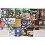 Heineken Cup Programmes, Bledisloe Cup, Ireland v England etc. Books etc. (17)