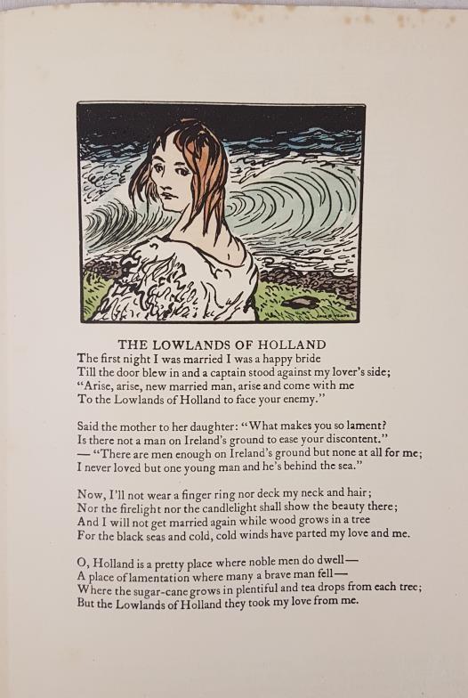 Original Cuala Press Broadside, March 1935. A Broadside. Editors W. B. Yeats and F. R. Higgins at - Image 2 of 2