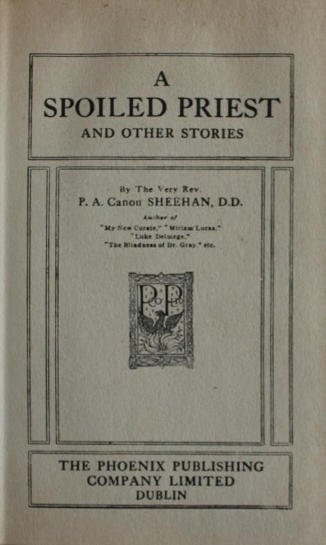 Canon Sheehan: The Complete Works in 12 volumes. Fine condition in original pictorial cloth. - Image 2 of 3