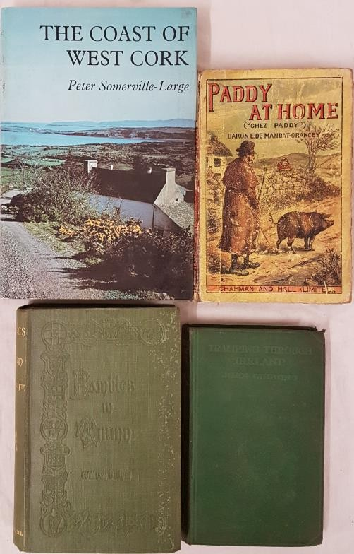 Paddy at Home 'Chez Paddy by De Mandat-Grancey. 1888. Interesting tour book; Rambles in Eirinn by