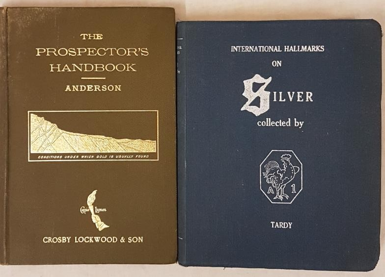 J.W. Anderson. The Prospector's Handbook – A Guide in search of valuable minerals 1891 and