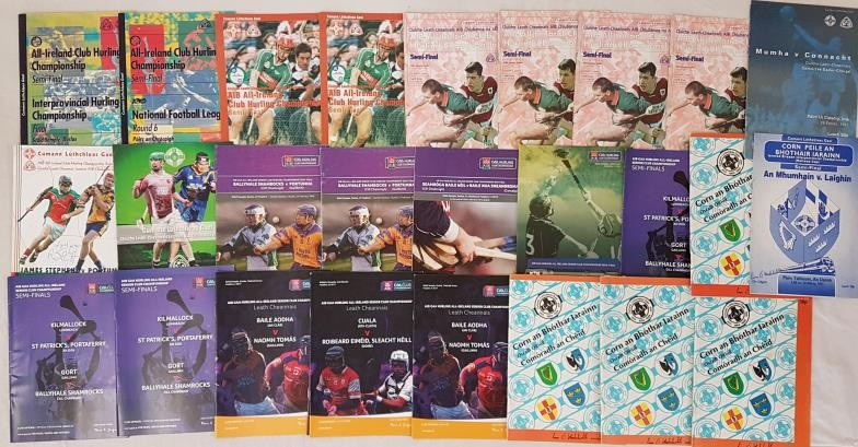 G.A.A. Railway Cup Final Programmes - 1984 (4), 1991, 1997 & 2005 along with All-Ireland Club