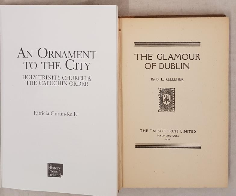 D.L. Kelleher. The Glamour of Dublin. 1929. 1st. Illustrated by Estella Solomons and P. C. Kelly. An - Image 2 of 3