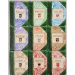 Family names: Set of 9 family names beautifully produced small books from G & M, c2003: Ryan, O'