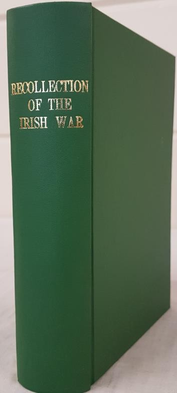 Darrell Figgis. Recollections of The Irish War. 1927. 1st. Scarce work relating to Easter Rising and