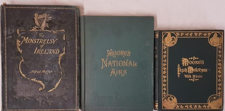 Moore's Irish melodies with Symphonies and Accompaniments. Dublin. 1903. Lovely copy in embossed