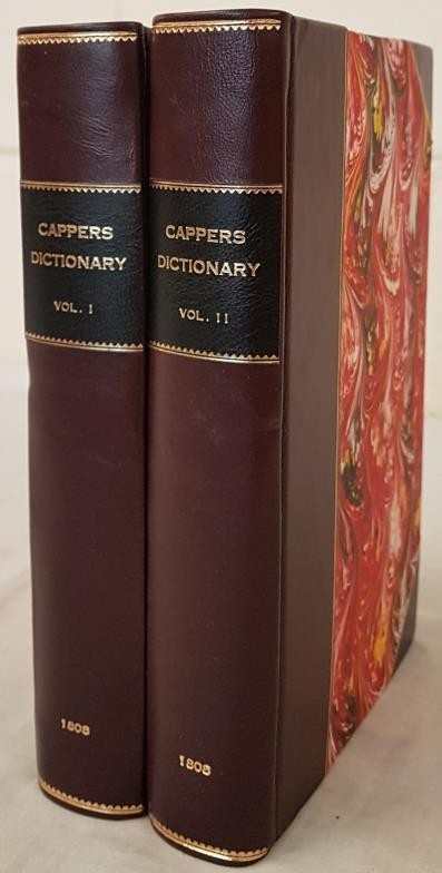 B.P. Capper. A Topographical Dictionary of the U.K. 1808. 2 volumes. Numerous hand coloured maps,