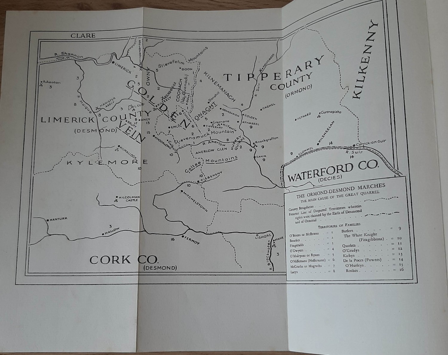 The Book of the Galtees and the Golden Vein – A Border History of Tipperary, Limerick and Cork ( - Image 3 of 5