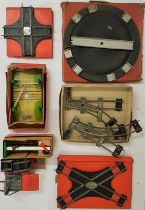 """Collection of Hornby """"0"""" Gauge Accessories - Tracks, Level Crossing, Rails, Signal Arm. etc. - 8"""