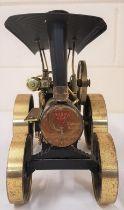 Wilesco D406 Steam Traction Engine black & brass - Germ Oils