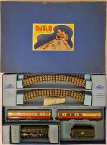 "Hornby Duplo Electric Train Set EDP11 Passenger Train ""Silver King"" B.R. (E.R.) 30011 - boxed"