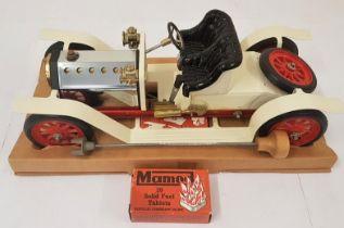 Mamod Steam Roadster - complete in original packaging