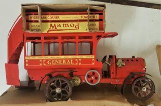 Mamod Working Steam Model - General, LB1, in original packaging
