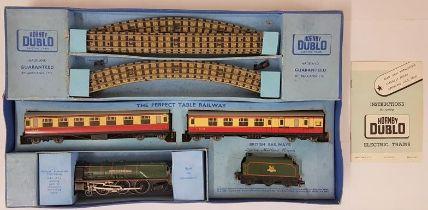 "Hornby Duplo Electric Train Set - EDP 12 Passenger Train ""Duchess Of Montrose"" B.R. (L.M.R.) 30012 -"