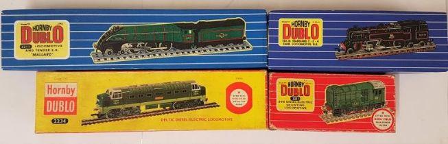 Four Hornby Dublo 00 Gauge Model Locomotives - 0-6-0 Diesel-Electric Shunting Locomotive; EDL18